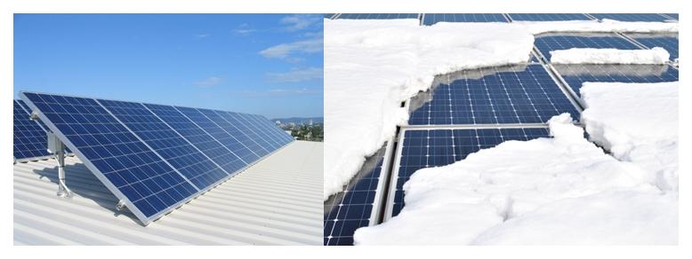 Cum se comporta un panou fotovoltaic in functie de anotimp