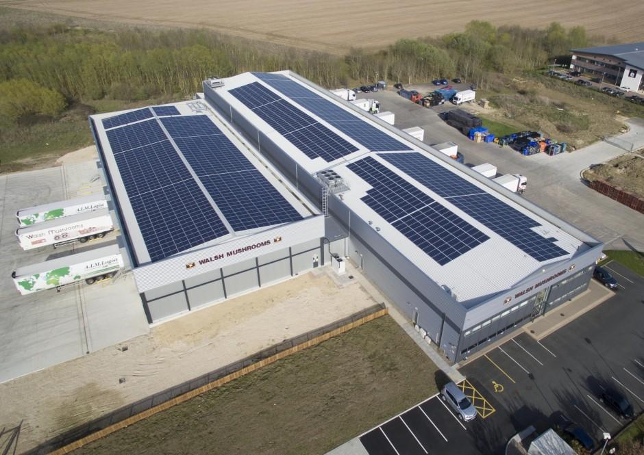 Solutii pentru dezvoltarea sectorului de productie – sisteme solare fotovoltaice industriale