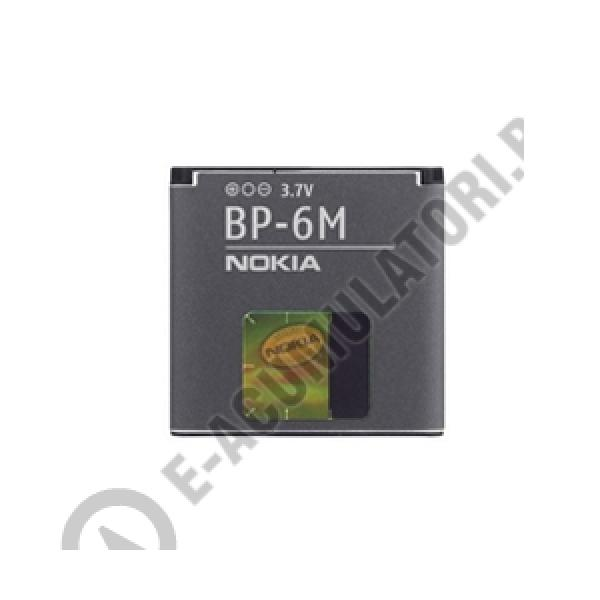 Acumulator original Nokia BP-6M, blister-big