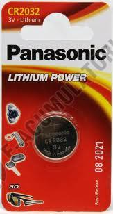 Baterie litiu Panasonic CR 2032 blister 1 buc-big