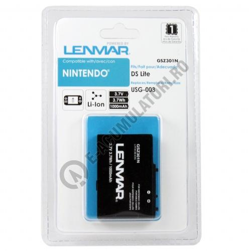 lenmar replacement battery for nintendo ds lite gaming systems. Black Bedroom Furniture Sets. Home Design Ideas