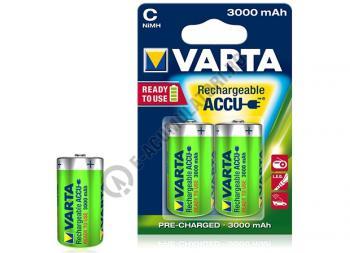 Acumulator Varta R14, C, Baby NiMH 3000 mAh, blister de 2 buc.