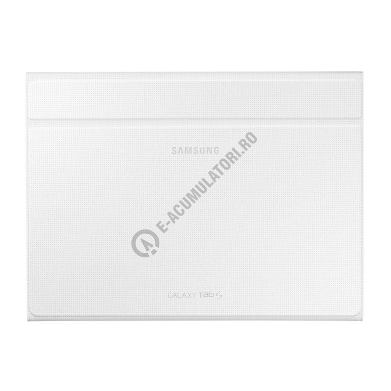 Samsung Tab S Book Cover White ~ Husa protectie samsung book cover ef bt bwegww white