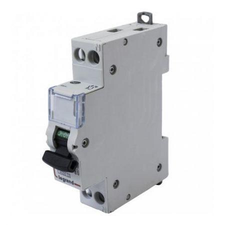 Legrand 02303 C Type 6A Single Pole Circuit Breaker MCB